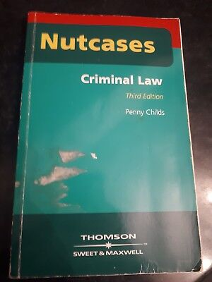 Nutcases Criminal Law third edition