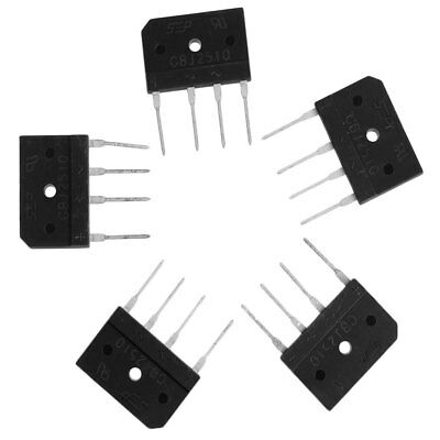 5Pcs GBJ2510 4-SIP GBJ 2510 25A 1000V Single Phases Diode Bridge Rectifiers SEP