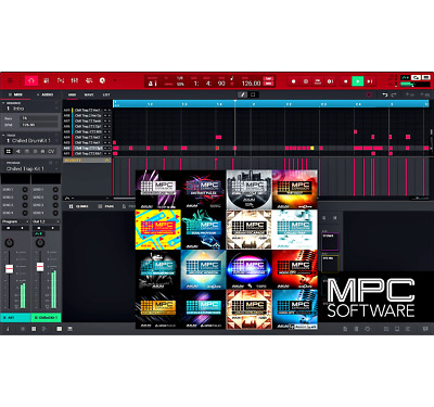 Akai MPC 2.3 SOFTWARE & 41 | AKAI Sample Expansion Pack | MPC X LIVE TOUCH