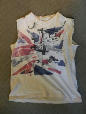 Original Vintage 1970s Sex Pistols Anarchy in the UK T-shirt