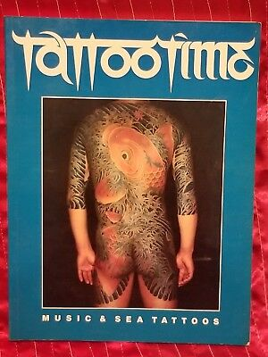 Vintage Tattoo Time Sea And Music Tattoo Book Ed Hardy