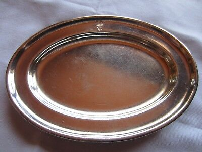 Antique Silver Plate Change Tray Cpr Canadian Pacific Railways Royal York Hotel