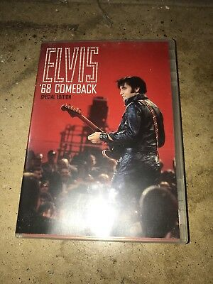 Elvis 68 Comeback Special Edition (DVD, 2006) w/ Insert EXCELLENT Condition