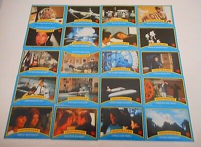 *20 x JAMES BOND 007 MOONRAKER TRADING CARDS 1979 -FREE POST*