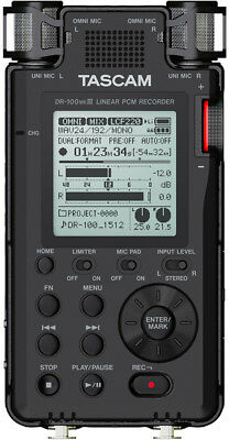 Tascam DR-100MKIII Stereo Field Recorder - New!- Free US Ship* prosounduniverse