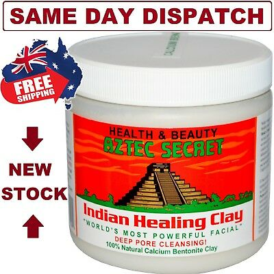 Aztec Indian Healing Clay FACIALS ACNE PORE Cleaning Mask - FAST SHIPPING!