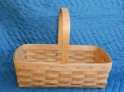 Gathering Market Basket 1993 Longaberger Basket