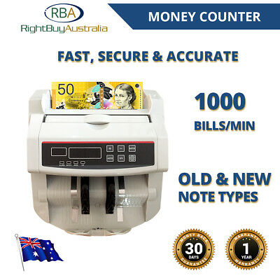 Digital Note Counter Automatic Dollar Banknote Cash Counter Counterfeit Accurate