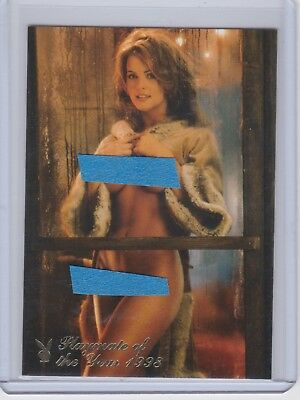 KAREN McDOUGAL Playboy Collector Update #6PY Playmate of the Year HOT CARD !