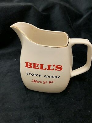 Bells Scotch Whisky Water Jug