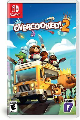 Overcooked 2 Nintendo Switch NEW & FREE USA SHIPPING