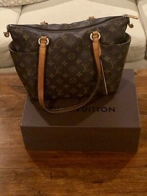 1d342c1bca499 LOUIS VUITTON *PREOWNED* Totally PM Monogram Canvas Leather Tote Bag ...