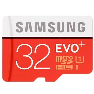 Samsung 32GB Micro SD SDXC TF Memory Card 80MBs UHSI Class 10 With Adapter AS