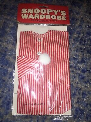 NEW VINTAGE SEALED Snoopy's Wardrobe Red Striped Pajama 0821 c 1958