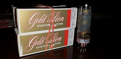 Genalex Gold Lion KT77 Matched Quad from Upscale Audio!