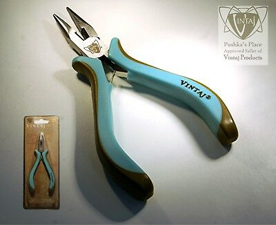 VINTAJ Chain Nose Plier with Cutter. A Beading Tool that you cannot do without!