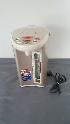 Zojirushi CD-WBC40 Micom 4L Water Boiler Warmer Includes Power Cord Tested A+