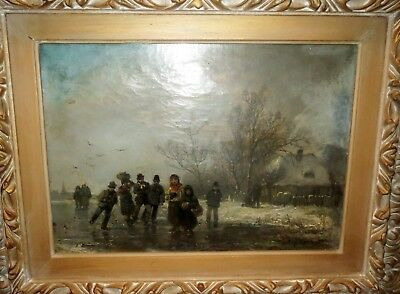 Signed Antique OLD MASTER - European DUTCH PAINTING