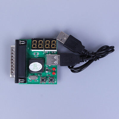 PC&laptop diagnostic analyzer 4 digit card motherboard post tester ZF