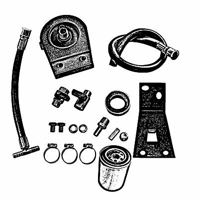 Coolant Filter System Kit Black Fit 99 03 Ford F250 F350 7 3l