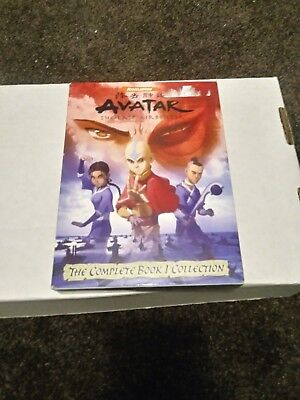 Avatar The Last Airbender The Complete Book 1 Collection 6 disc DVD set