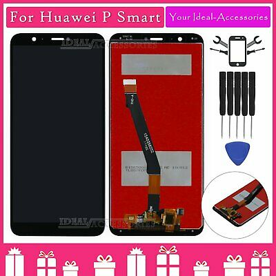For Huawei P Smart FIG-LX1 LCD Touch Screen Digitizer Assembly Black Replacement