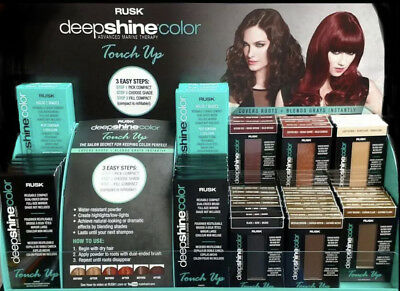 Rusk Deepshine Color Touch Up Compacts &/or Powder Refills 0.12 Oz - You Choose!