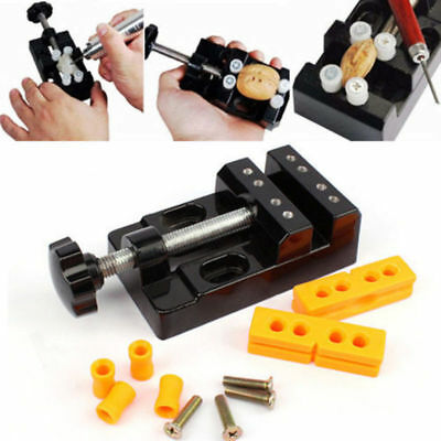 Useful Drill Press Vise Clamp Bench Table Mechanic Jewelry Repair Grinding Craft