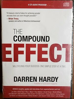 New The Compound Effect by Darren Hardy 6 CD Program! Audio Book