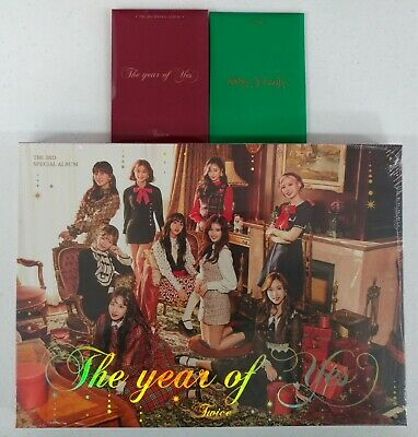 Twice-The Year Of Yes A Ver. CD+Photobook+Photocard+Pre Order Benefit+Gift 9Card