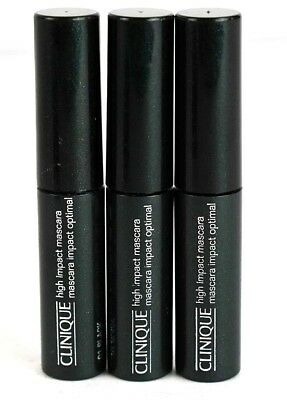 72c3292ed8e 3CT CLINIQUE HIGH Impact Mascara, 01 Black, 3.5ml - $6.99 | PicClick