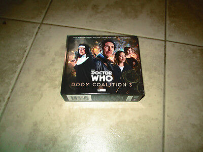 Doctor Who Doom Coalition 3 Audio X 4 Cds New
