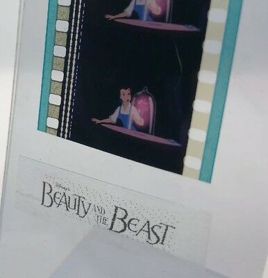 Disney Animation Authentic Film 5-Cell Strip BEAUTY & THE BEAST Belle & The Rose