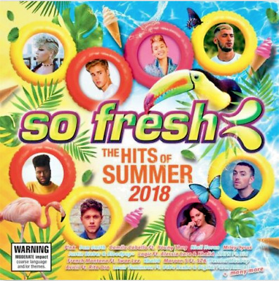 So Fresh - Hits Of Summer 2018, CD  NEW & SEALED    V1