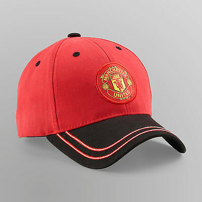 72e749376 Two Tone Licensed Manchester United MUFC Official Authentic Cap Hat Rhinox