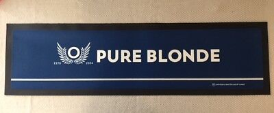Bar Mat Runner Pure Blonde Rubber Brand New Pub Free Postage!