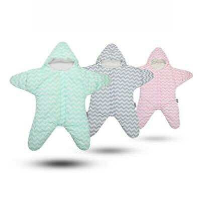 b194eb675 BABY COTTON STARFISH Sleeping Bag Super Soft Newborn Sleepsack ...