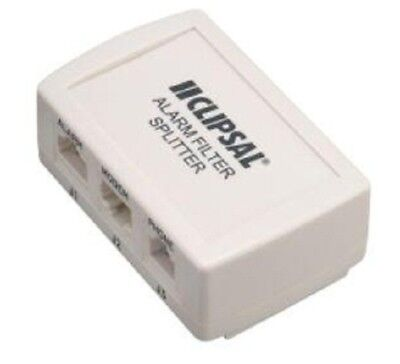 Clipsal ADSL2+ SECURITY CENTRAL SPLITTER/FILTER CLI3110DSL2SSF3 Mode-3 Switching