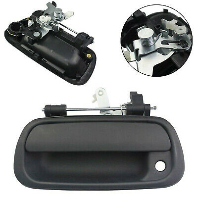 Smooth Black Tailgate Handle w// Lock Provision for 00-06 Tundra Pickup Truck