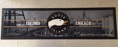 Bar Mat Runner Goose Island Beer New Style Beer Rubber Brand New Free Postage!
