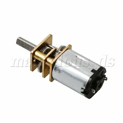 12mm Micro Speed Reduction Gear Motor DC3V High Torque Electric Motor Gearbox