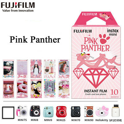 1 Pack Pink Panther Fujifilm Instax Mini Instant Film For Mini 7s 25 50s 90 SP-1