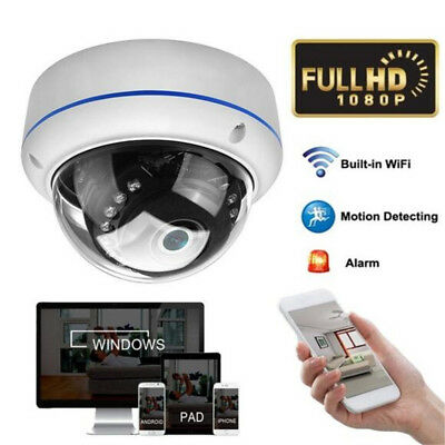 HD 1080P 720P Wireless WiFi IP Camera 5X Zoom IR Speed Dome CCTV Security FY