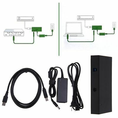 Kinect 2.0 Sensor Adapter for Xbox One S& Xbox One X & Windows 8/10 PC USB 3.0