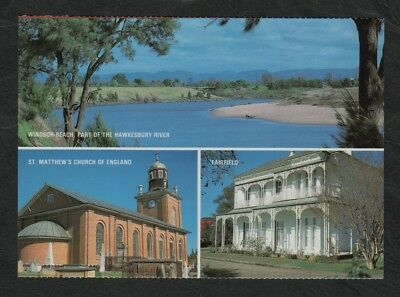 e2462)            MULTI VIEW POSTCARD OF WINDSOR IN N.S.W.,  AUSTRALIA