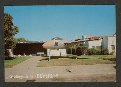 e2739)  POSTCARD OF THE AERONAUTICAL MUSEUM, BEVERLEY IN WESTERN AUSTRALIA