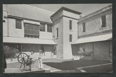 k3367)  POSTCARD OF THE COURTYARD AT FREMANTLE ARTS CENTRE IN WESTERN AUSTRALIA