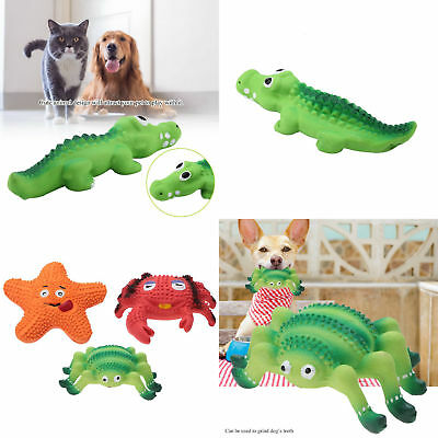Pet Dog Toy Funny Puppy Chew Squeaker Squeaky Latex Play Sound Toys
