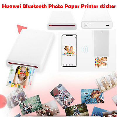 Huawei Bluetooth 4.1 Zink Photo Printer Paper Stickers Support DIY Share 50mAh