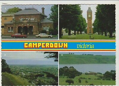 Multiscene Camperdown Victoria Nucolorvue Postcard